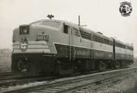 CPR 4042 - Toronto, March 1955.